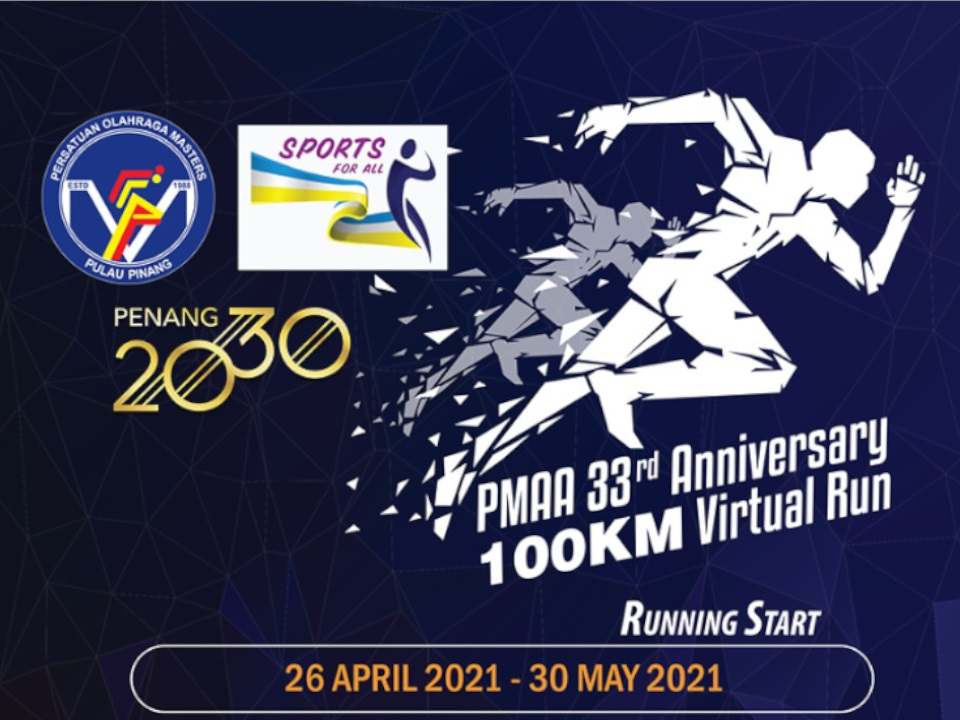 PMAA 33rd Anniversary 100KM Virtual Run