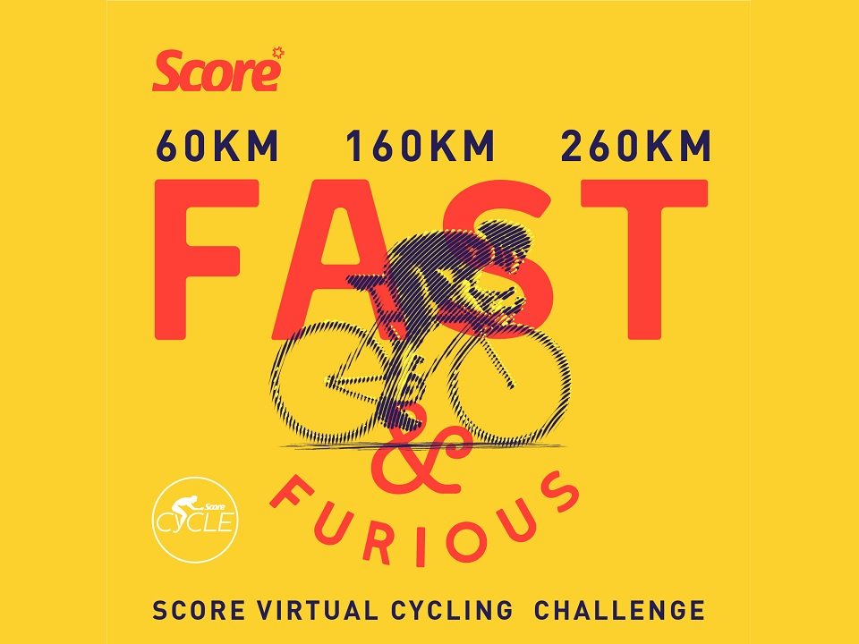Score Virtual Cycling Challenge
